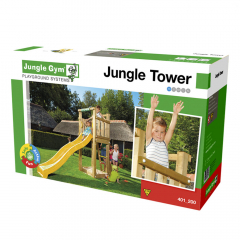 Baupaket Jungle Gym Tower |DIY-Kit ohne Holzelemente